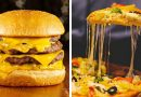 40 DELICIOUS FAST FOOD HACKS || 5-Minute Pizza And Burger Recipes!